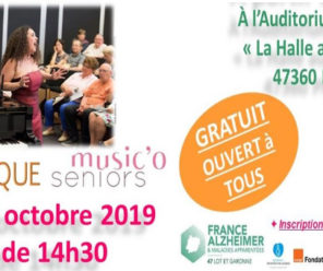 Forum d'information et d'échange sur la maladie d'Alzheimer à Nérac le 15 mars 2019
