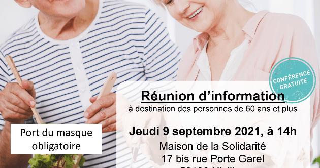 Ateliers «Nutrition Santé Séniors» organisés par la Communauté de Communes Arc Sud Bretagne