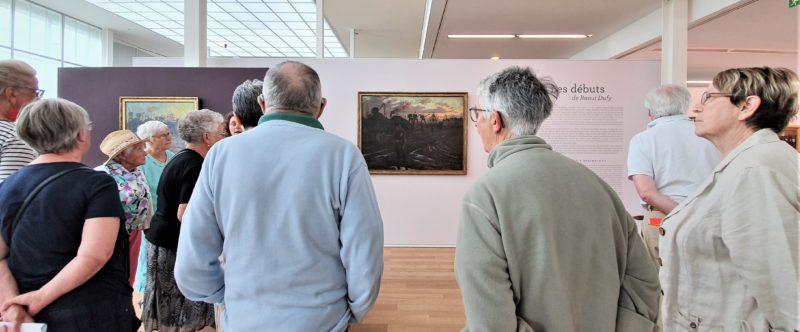 Sortie conviviale au Musée Malraux : visite de l'exposition Raoul Dufy – Vendredi 19 juillet 2019