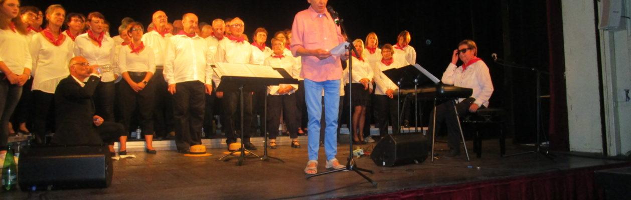 Concert dans les Vosges.