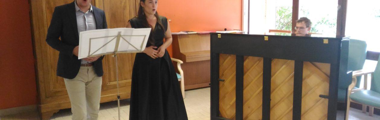 Concert de Music'O Seniors dans la Drôme.