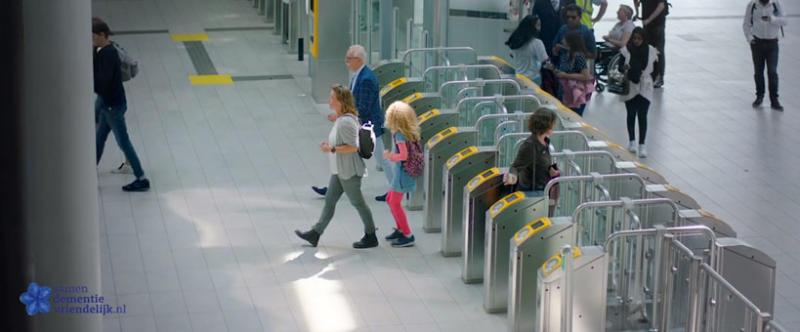 Des transports publics aidants aux Pays-Bas